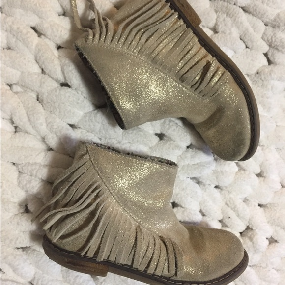 Tucker + Tate Other - Tucker + Tate fringe ankle boots size 12